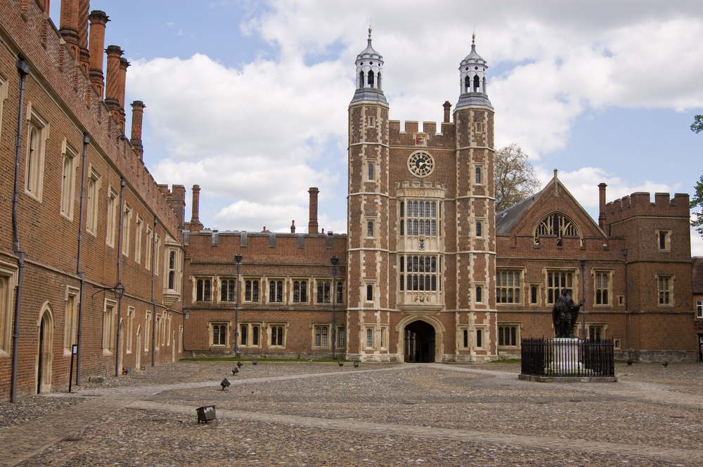 Eton College, the most famous part of Eton.