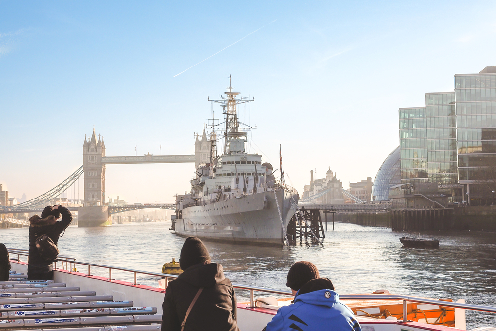 HMS Belfast offers a diverting day out at Tower Bridge.