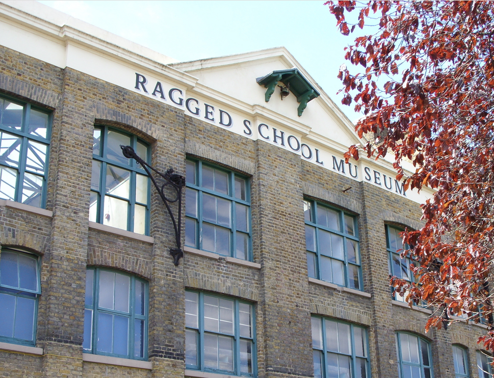 Ragged School Museum, an unusual museum in London.
