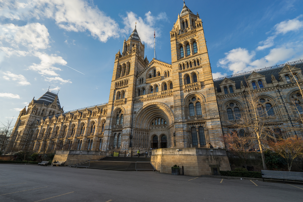 Natural History Museum, great to visit in London.