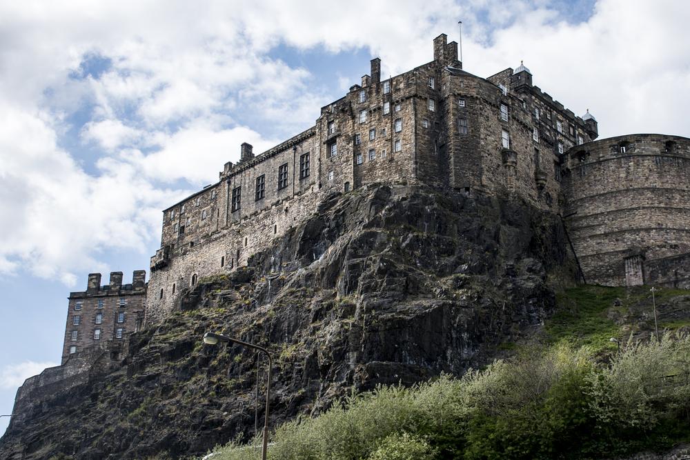 Castle Rock, Edinburgh,