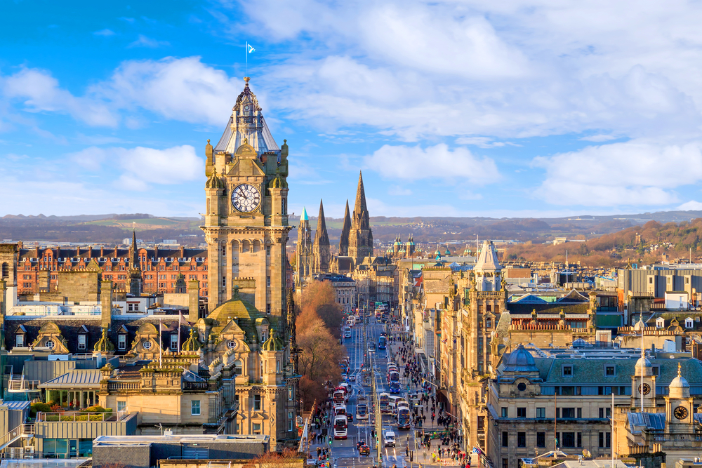 The city of Edinburgh has a fascinating history.