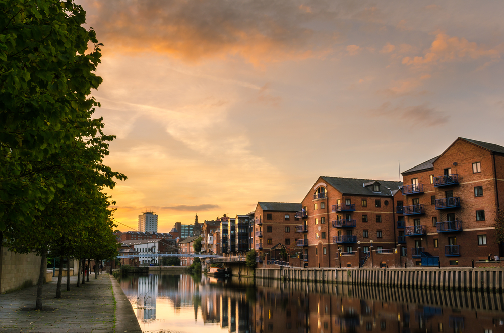 The River Aire is essential to the history of Leeds.