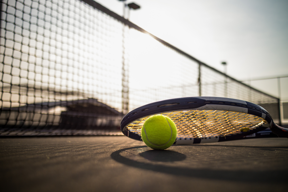 Tennis originated in Birmingham, UK.