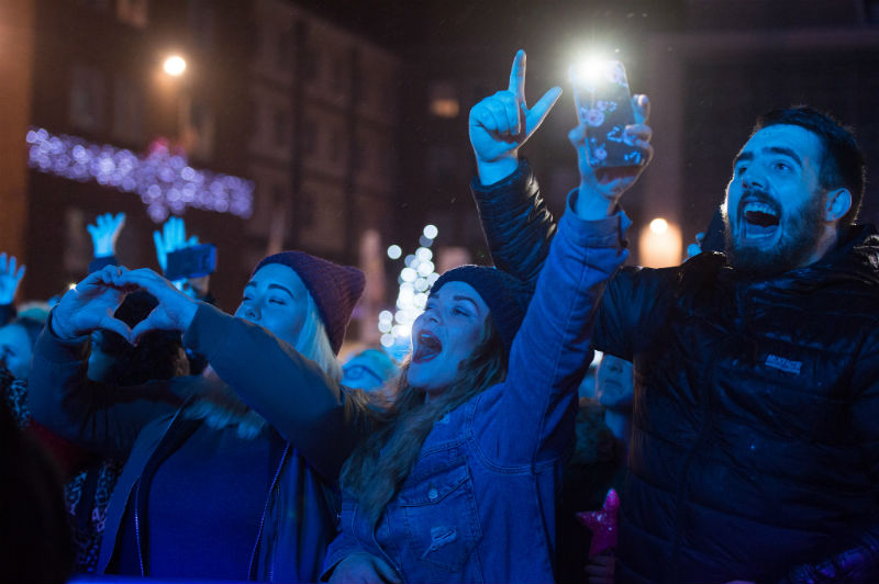 The festive season begins with Coventry Christmas Lights switch on